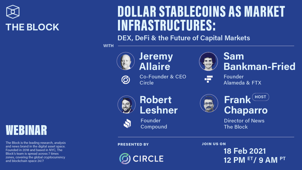 DEX, DeFi & the Future of Capital Markets — Brought to you by Circle
